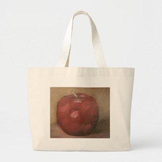 País Apple Bolsa Tela Grande