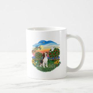 País brillante - beagle 1 tazas de café