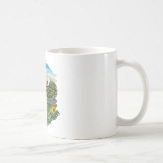 País brillante - beagle 1 taza de café