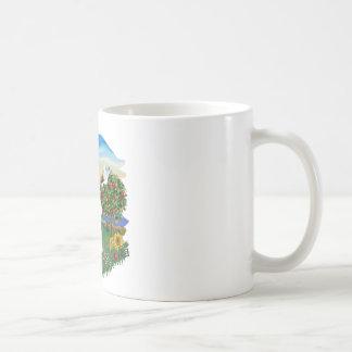 País brillante - Bichon Frise Taza De Café