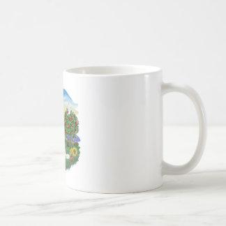 País brillante - caballero - BL2 Tazas De Café