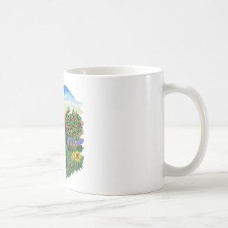 País brillante - escocés Terrier 6 Taza De Café