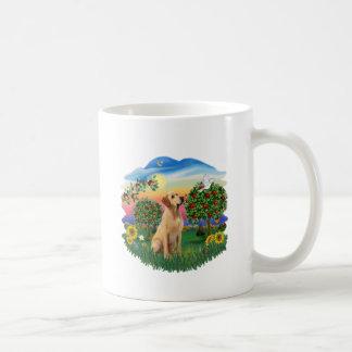 País brillante - Labrador amarillo #8 Tazas