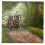 País - caballo - el paseo del heno azulejos ceramicos