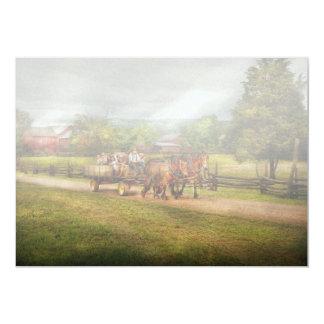 """País - caballo - los placeres de la vida invitación 5"""" x 7"""""""