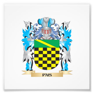 Pais Coat of Arms - Family Crest Art Photo