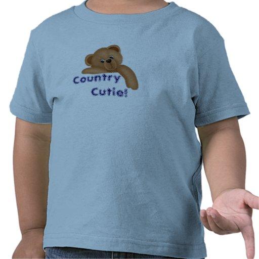 ¡País Cutie! Camiseta