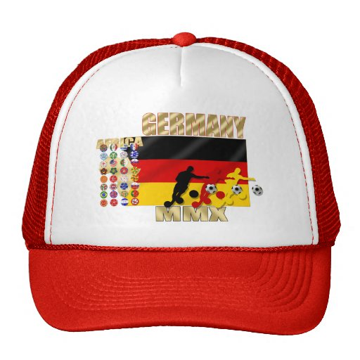 País de Alemania 32 que califica los regalos de Fu Gorra