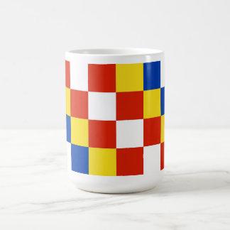 País de Bélgica de la bandera de la provincia de A Tazas