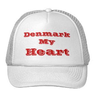 País de Dinamarca Gorras
