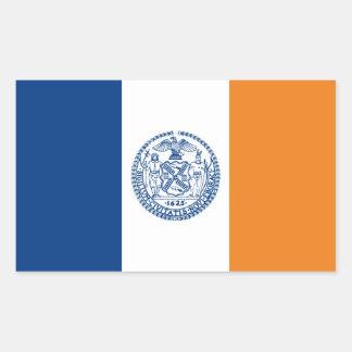 país de Estados Unidos América de la bandera de Pegatina Rectangular