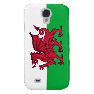 País de Gales - bandera Galés Funda Para Galaxy S4