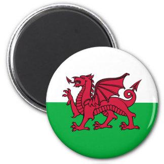 País de Gales - bandera Galés Iman Para Frigorífico