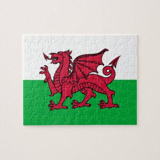 País de Gales - bandera Galés Rompecabeza