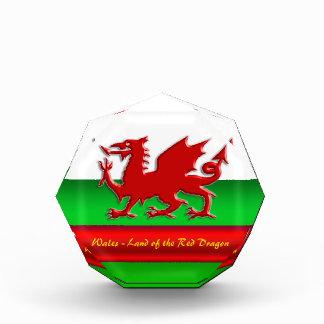 País de Gales - casero del dragón rojo,
