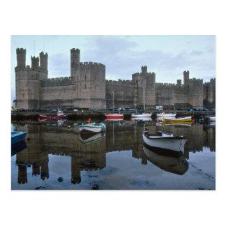 País de Gales castillo de Caernarfon uno de Edwa Postales