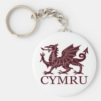 País de Gales CYMRU Llavero Personalizado