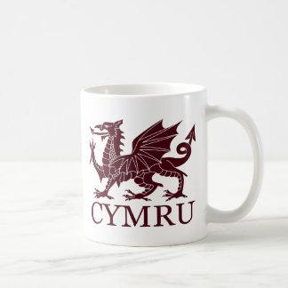País de Gales CYMRU Taza De Café