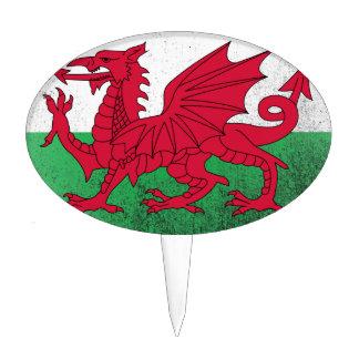 País de Gales Decoraciones Para Tartas