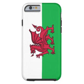 País de Gales - dragón de la bandera Galés Funda Para iPhone 6 Tough