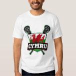 País de Gales Galés LaCrosse Playera