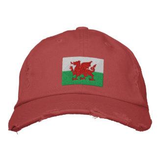 País de Gales Gorros Bordados