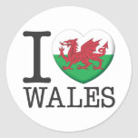 País de Gales Pegatina