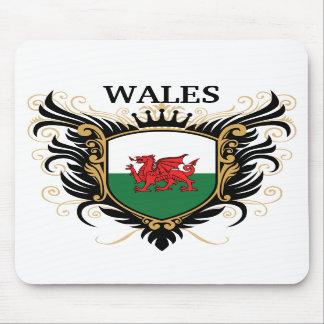 País de Gales [personalice] Alfombrilla De Ratones
