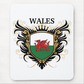 País de Gales [personalice] Tapete De Raton