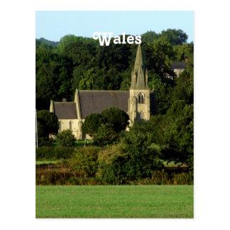 País de Gales Tarjeta Postal