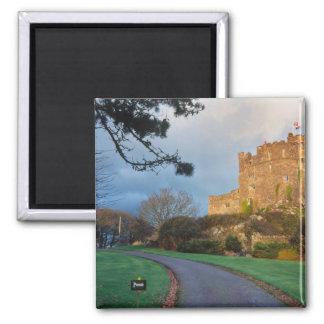 País de Gales - un castillo privado galés cerca de Imán Cuadrado