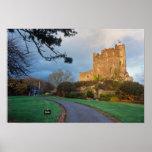 País de Gales - un castillo privado galés cerca de Poster