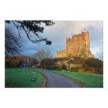País de Gales - un castillo privado galés cerca de Fotografía