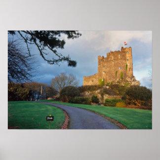 País de Gales - un castillo privado galés cerca de Póster