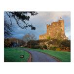 País de Gales - un castillo privado galés cerca de Tarjeta Postal