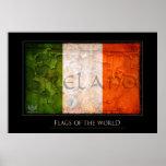 País de irlandés impresiones