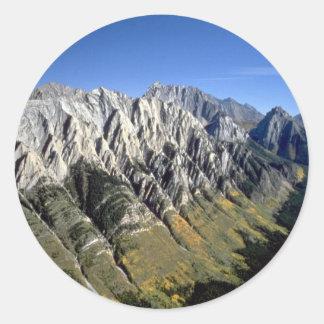 País de Kananaski, Moutains rocoso, Alberta, Etiqueta Redonda