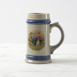 País de la montaña - beagle 1 taza
