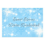 País de las maravillas azul del invierno de la inv