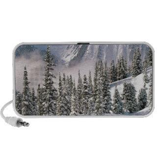 País de las maravillas Canadá del invierno iPhone Altavoz