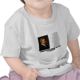 País de las maravillas Charles Lutwidge Dodgson de Camisetas
