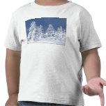 País de las maravillas del invierno camisetas
