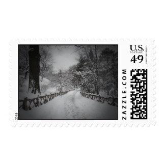 País de las maravillas del invierno, Central Park, Sellos