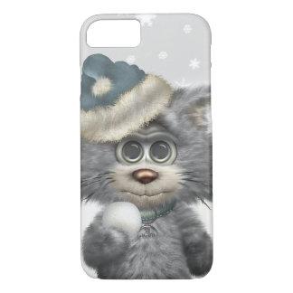 País de las maravillas del invierno de los gatos funda iPhone 7