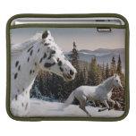 País de las maravillas del invierno funda para iPads