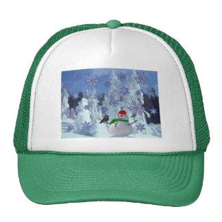 País de las maravillas del invierno gorras de camionero