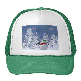 País de las maravillas del invierno gorras