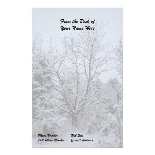 País de las maravillas del invierno  papeleria