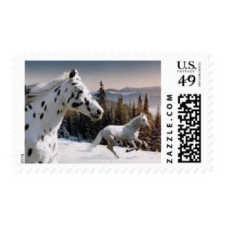País de las maravillas del invierno sello