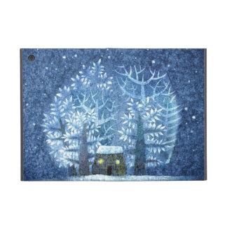 País de las maravillas femenino del invierno del v iPad mini funda